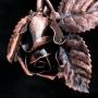 Kovácsoltvas Rózsa bronz - ajándékötlet