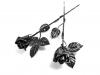 Karácsonyi Ajándék ötlet - kovácsoltvas rózsa