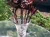 Kovácsoltvas Rózsa vázában