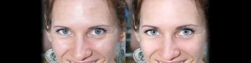 Fényképretusálás arc előtte - utána